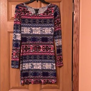 Wet seal size small Aztec print dress